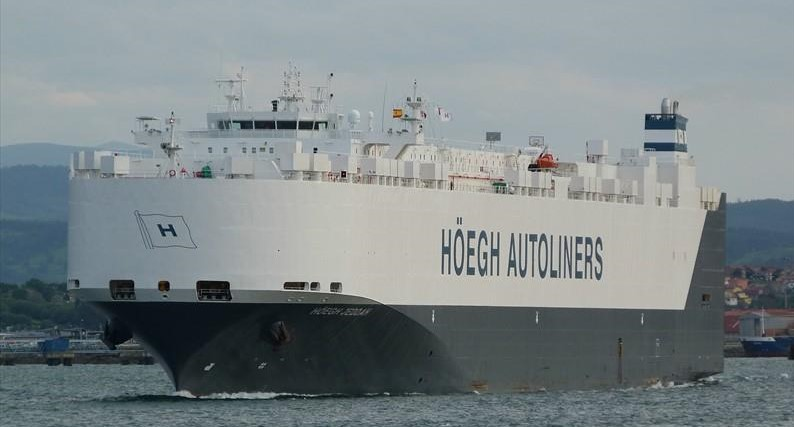 2019 JULY SHIPPING SCHEDULE FOR EAST AFRICA :HOEGH JEDDAH V